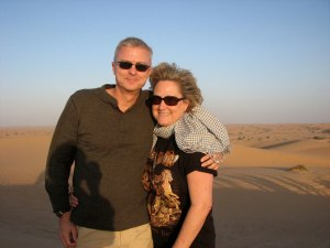 Jeff and Shirley - Desert Safari