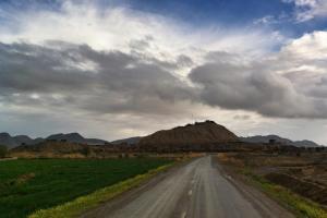 The Outpost at Sperwan Ghar Afghanistan
