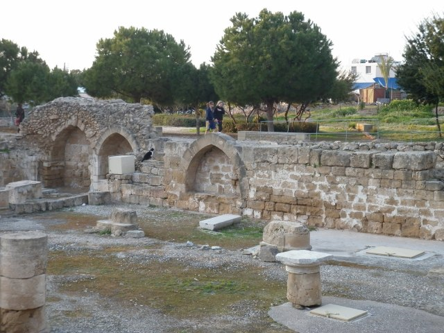 Remains of the Gothic Church, Ayia Kyriaki Church - Paphos, Cyprus