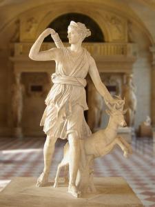 Artemis/Diana http://en.wikipedia.org/wiki/Diana