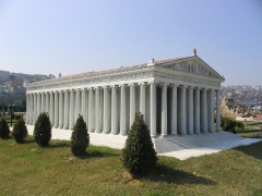 Reconstruction of the Temple of Artemis at Ephesus
