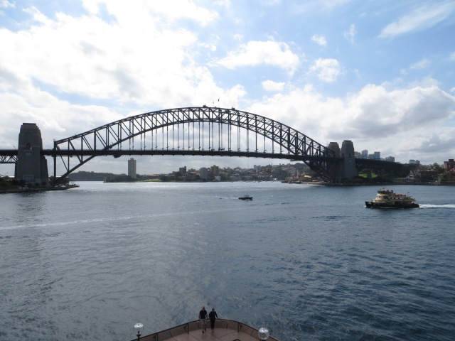 Done and Dusted Sydney Harbour Bridge Shirley Ralston, www.texpatfaith.com