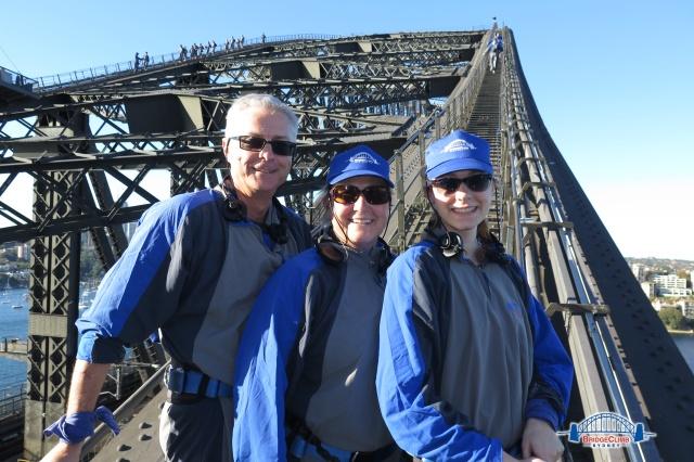 Up the arch Sydney Harbour Bridge Shirley Ralston, www.texpatfaith.com